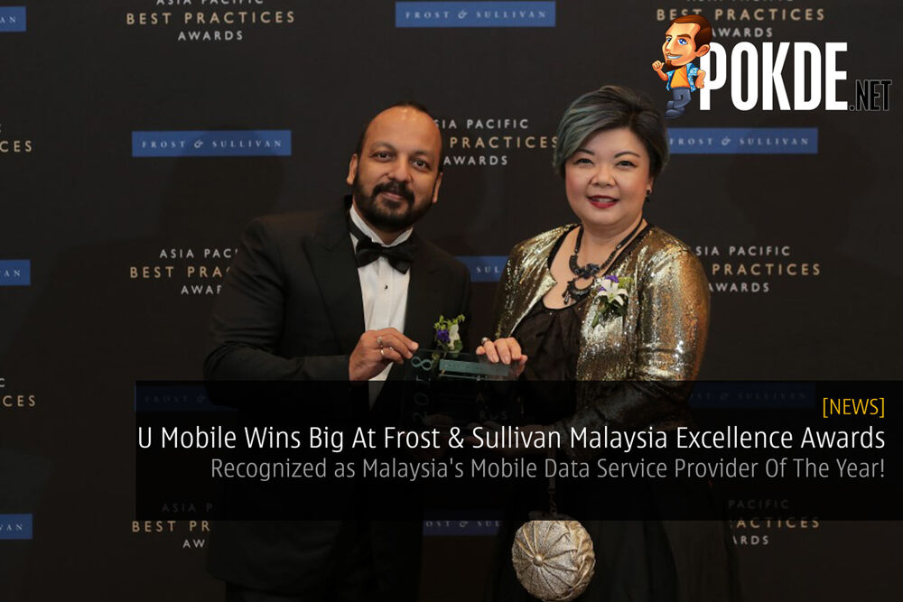 U Mobile Wins Big At Frost & Sullivan Malaysia Excellence Awards — Recognized as Malaysia's Mobile Data Service Provider Of The Year! 22