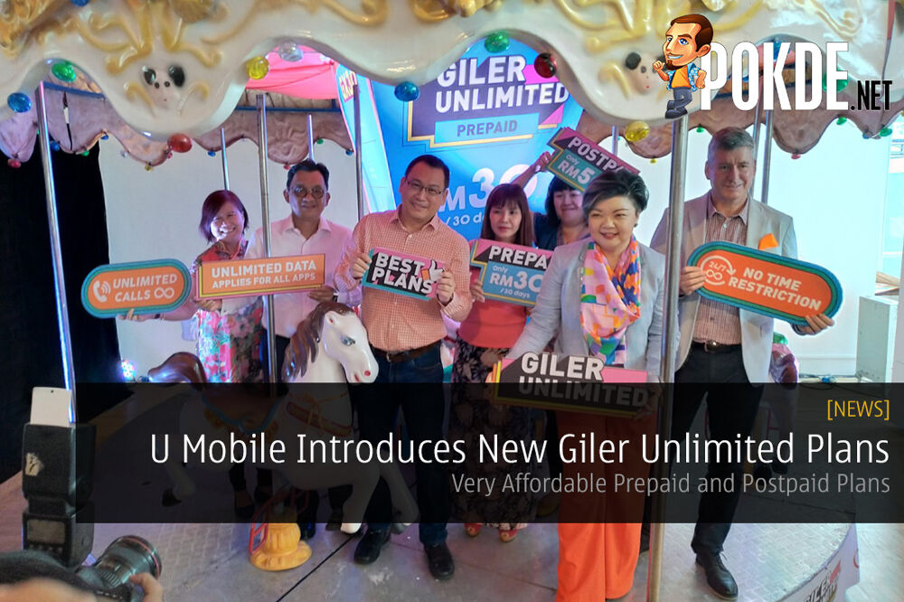 U Mobile Introduces New Giler Unlimited GX30 and GX50 Plans