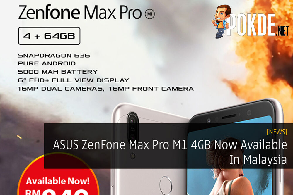 ASUS ZenFone Max Pro M1 4GB Now Available In Malaysia 19