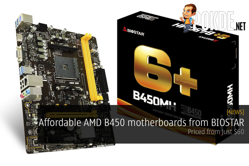 Affordable AMD B450 motherboards from BIOSTAR — priced from just $60! 21