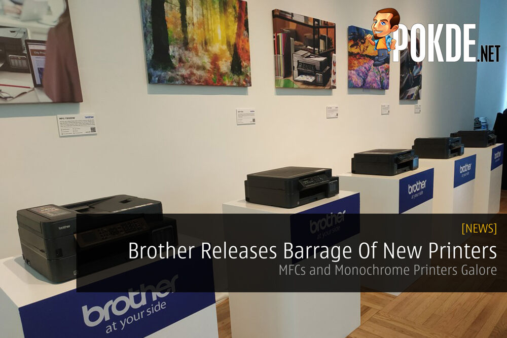 Brother Releases Barrage Of New Printers — MFCs and Monochrome Printers Galore 22
