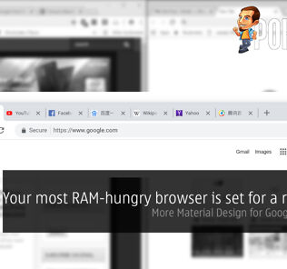 Your most RAM-hungry browser is set for a redesign — more Material Design for Google Chrome! 22