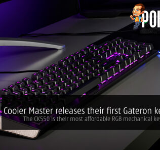 Cooler Master releases their first Gateron keyboard — the Cooler Master CK550 is their most affordable RGB mechanical keyboard yet! 40