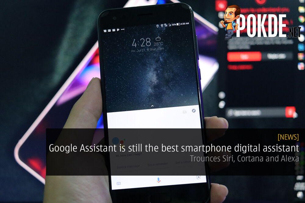 Google Assistant is still the best smartphone digital assistant — trounces Siri, Cortana and Alexa 26