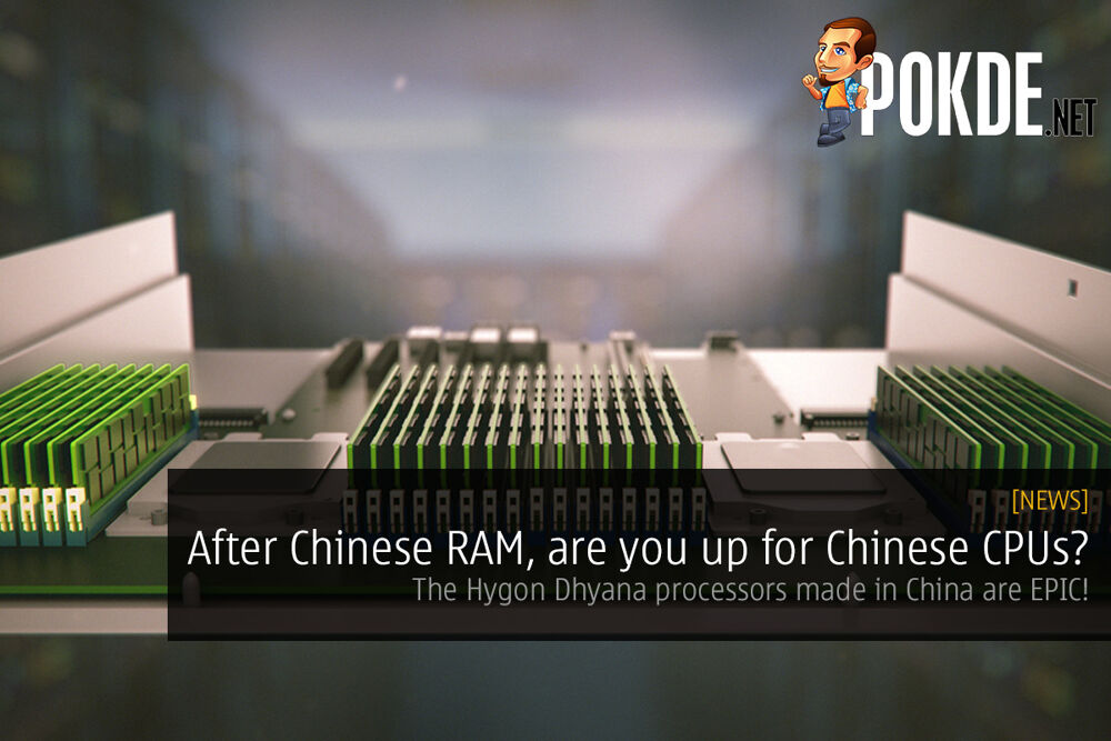 After Chinese RAM, are you up for Chinese CPUs? The Hygon Dhyana processors are EPIC! 18