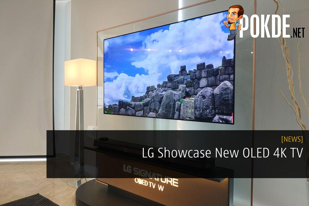LG Showcase New OLED 4K TV 22