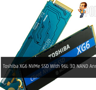 Toshiba XG6 NVMe SSD With 96L 3D NAND Announced 39