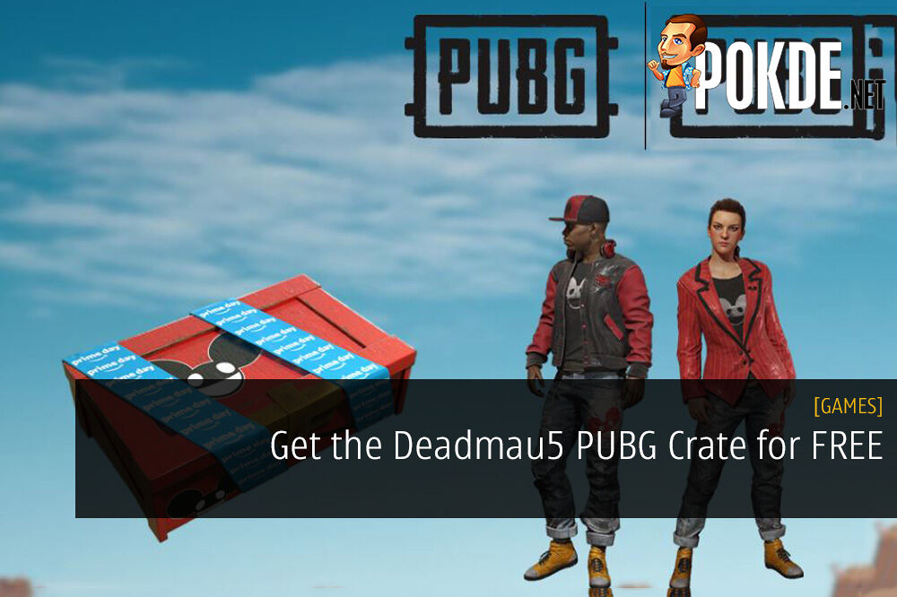 Get the Deadmau5 PUBG Crate for FREE