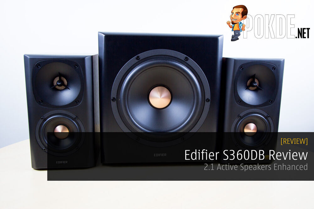 Edifier S360DB Review - 2.1 Active Speakers Enhanced 22