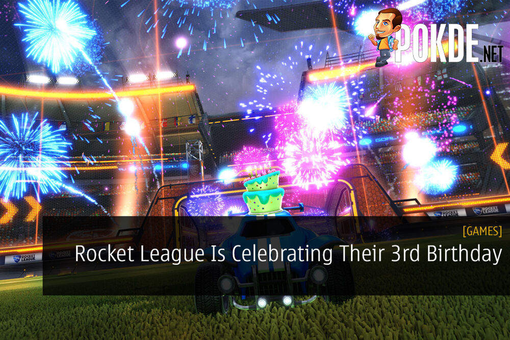 Rocket League Is Celebrating Their 3rd Birthday