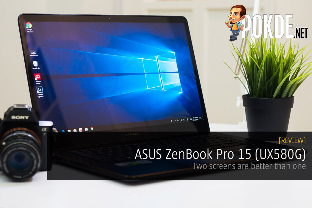 ASUS ZenBook Pro 15 (UX580G) review — two screens are better than one 24