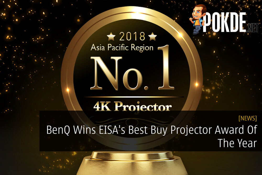 BenQ Wins EISA's Best Buy Projector Award Of The Year 22