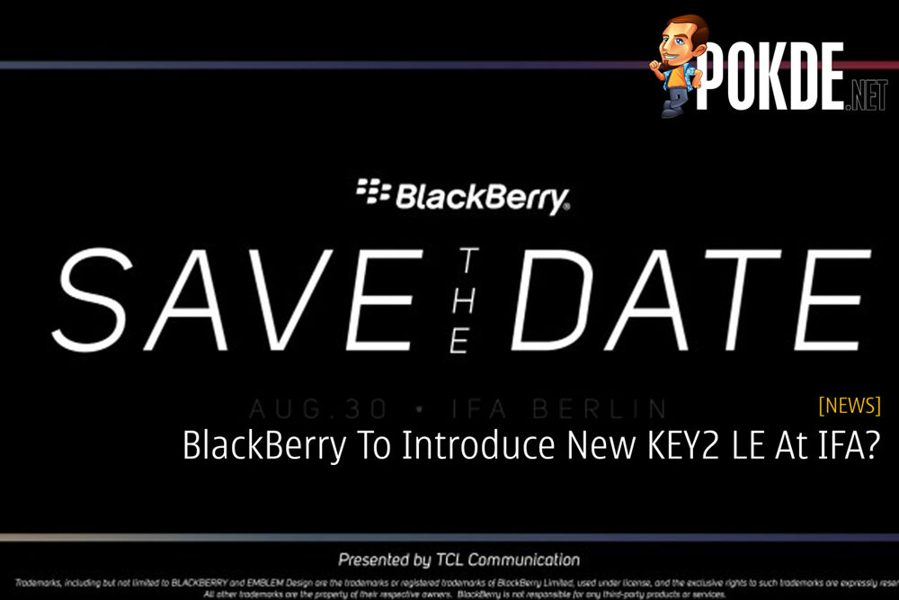 BlackBerry To Introduce New KEY2 LE At IFA? 19