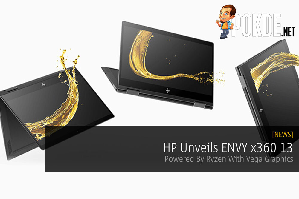 HP Unveils ENVY x360 13 — Powered By Ryzen With Vega Graphics 22