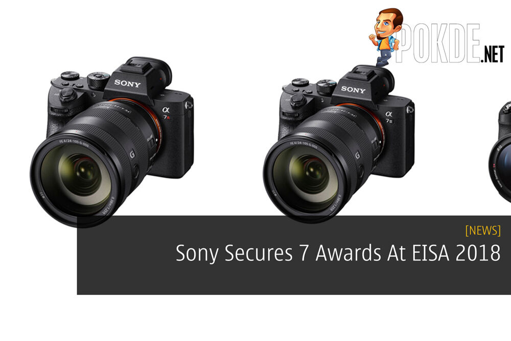 Sony Secures 7 Awards At EISA 2018 23
