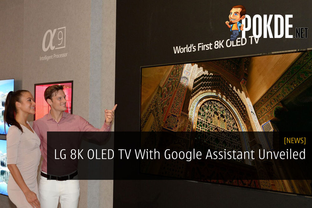 LG 8K OLED TV With Google Assistant Unveiled 19