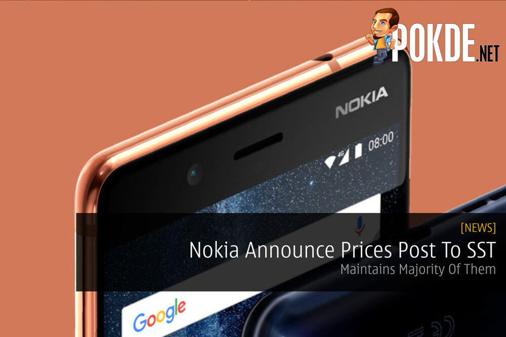 Nokia Announce Prices Post To SST - Maintains Majority Of Them 19