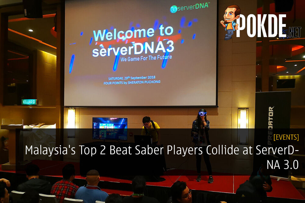 Malaysia's Top 2 Beat Saber Players Collide at ServerDNA 3.0
