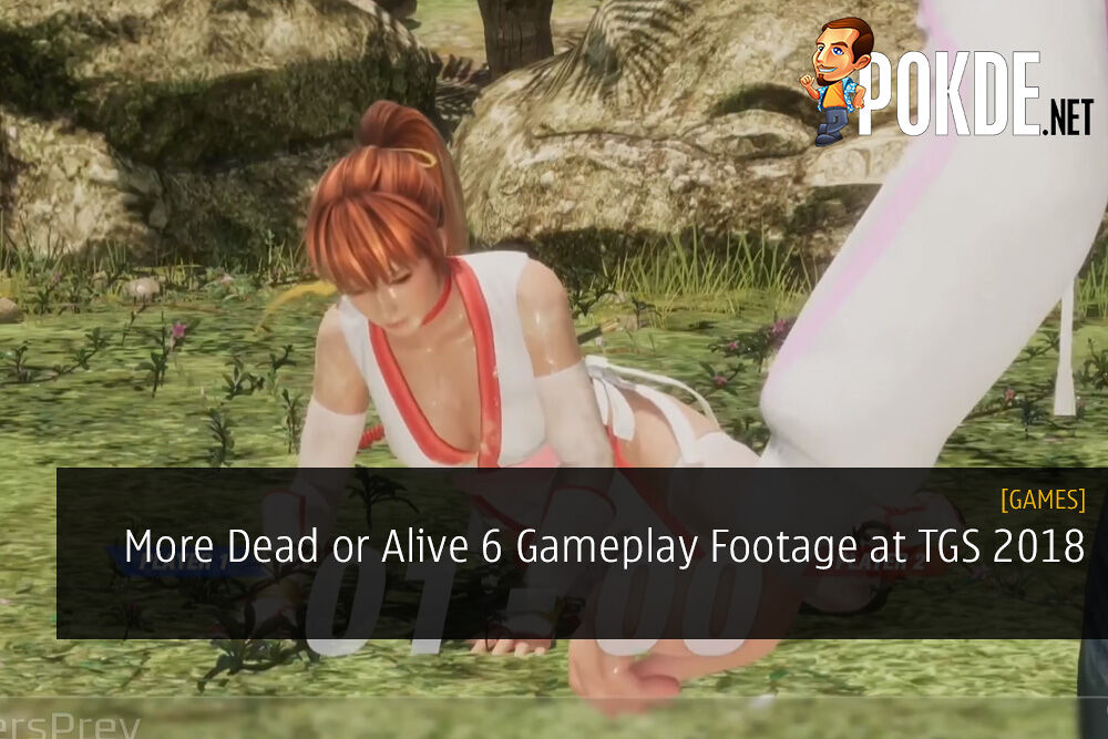 More Dead or Alive 6 Gameplay Footage at TGS 2018