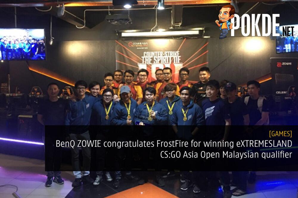 BenQ ZOWIE congratulates FrostFire for winning eXTREMESLAND CS:GO Asia Open Malaysian qualifier — advances to Shanghai Asia Finals 22