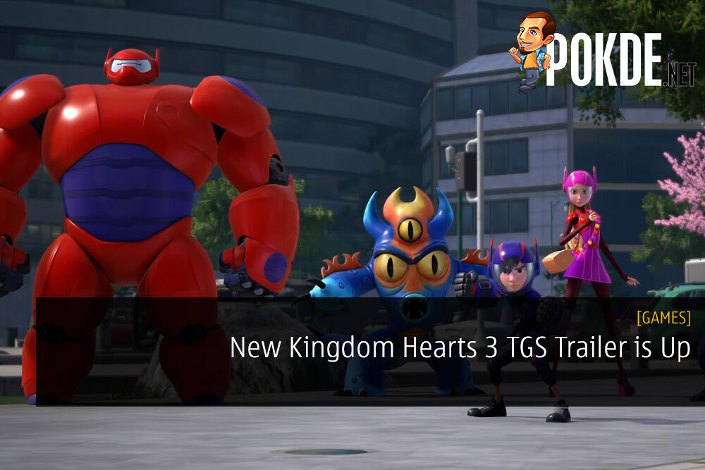 New Kingdom Hearts 3 TGS Trailer is Up