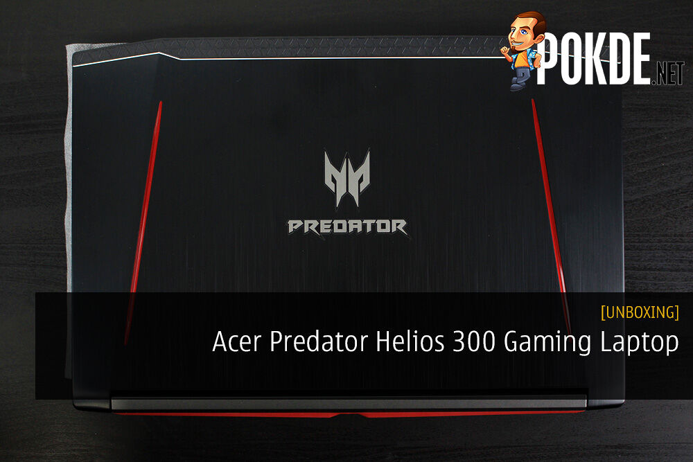 Unboxing the Acer Predator Helios 300 Gaming Laptop