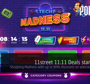 11street 11.11 Deals start today — Shopping Madness with up to 90% discounts on selected products! 30