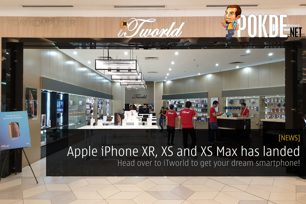 Apple iPhone XR, XS and XS Max has landed. Head over to iTworld to get your dream smartphone! 21