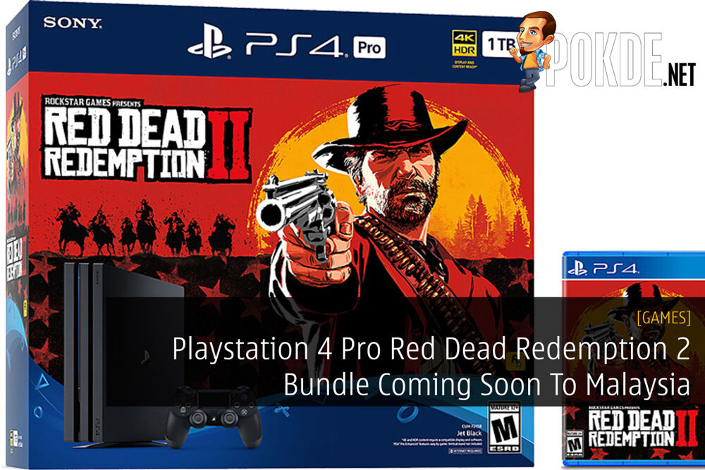 Playstation 4 Pro Red Dead Redemption 2 Bundle Coming Soon To Malaysia 23