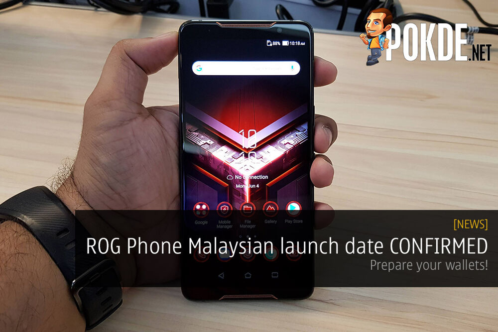 ROG Phone Malaysian launch date CONFIRMED — prepare your wallets! 21