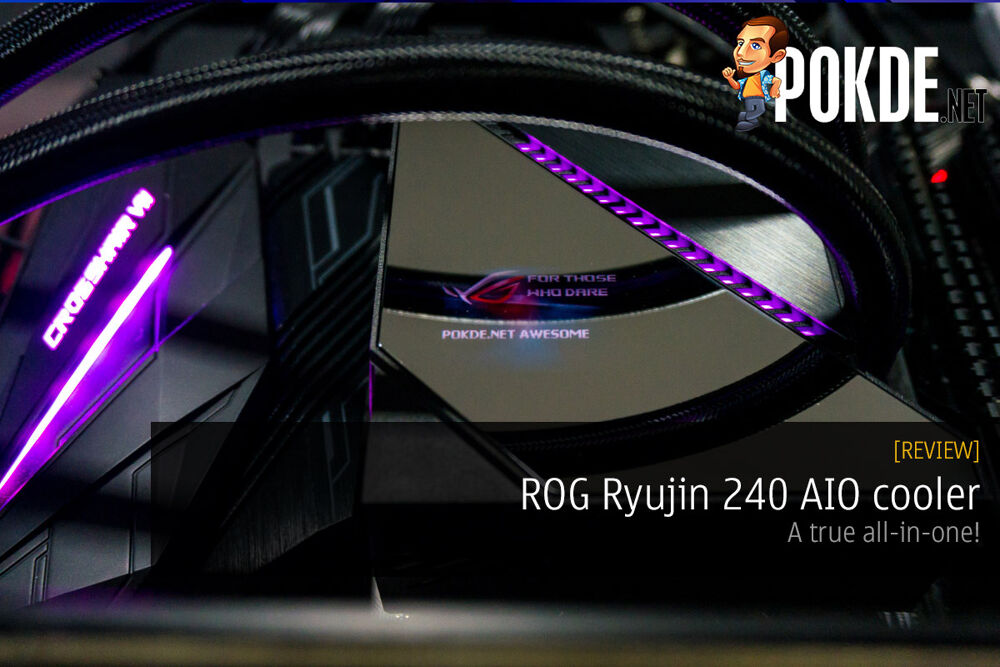 ROG Ryujin 240 AIO cooler review — a true all-in-one! 23