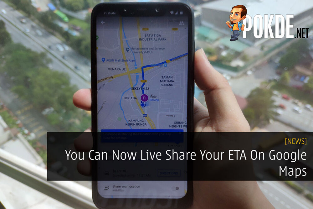 You Can Now Live Share Your ETA On Google Maps 25