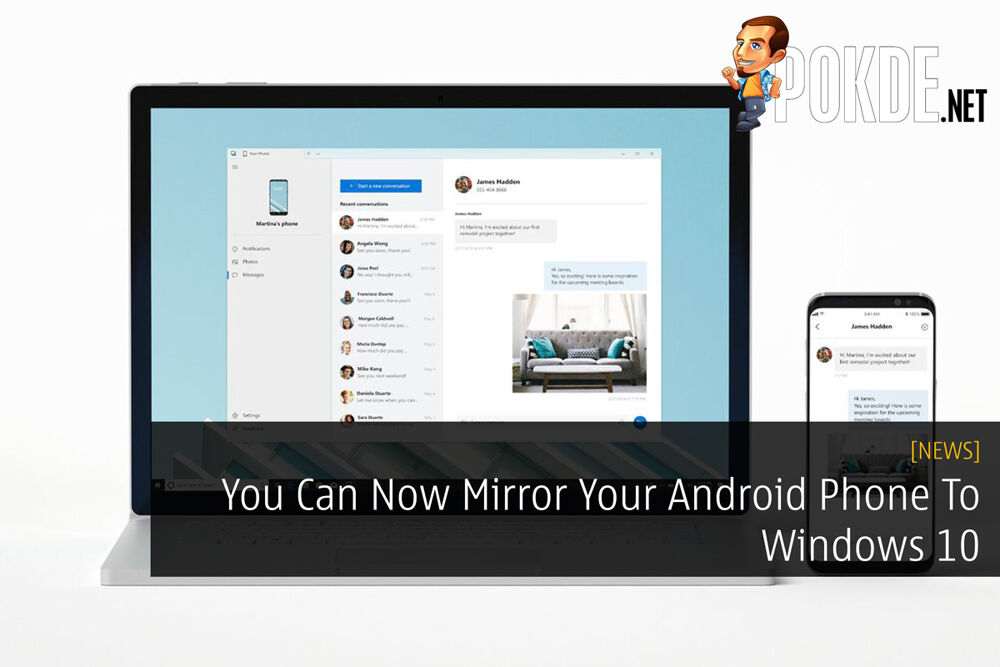 You Can Now Mirror Your Android Phone To Windows 10 23
