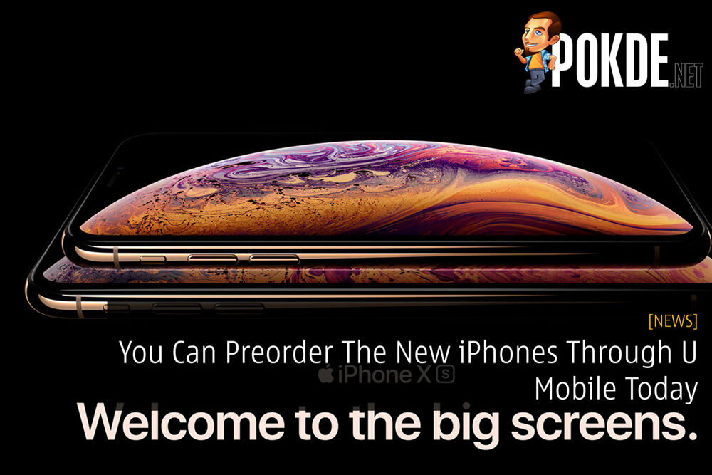 You Can Preorder The New iPhones Through U Mobile Today 24