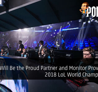 Acer Will Be the Proud Partner and Monitor Provider for 2018 League of Legends World Championship 18