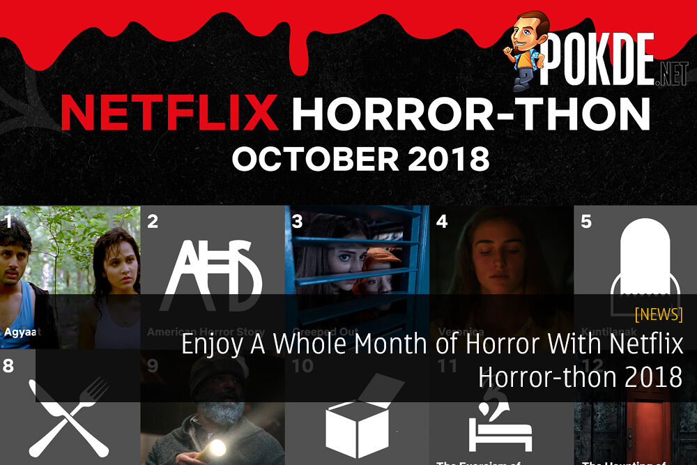 Enjoy A Whole Month of Horror With Netflix Horror-thon 2018