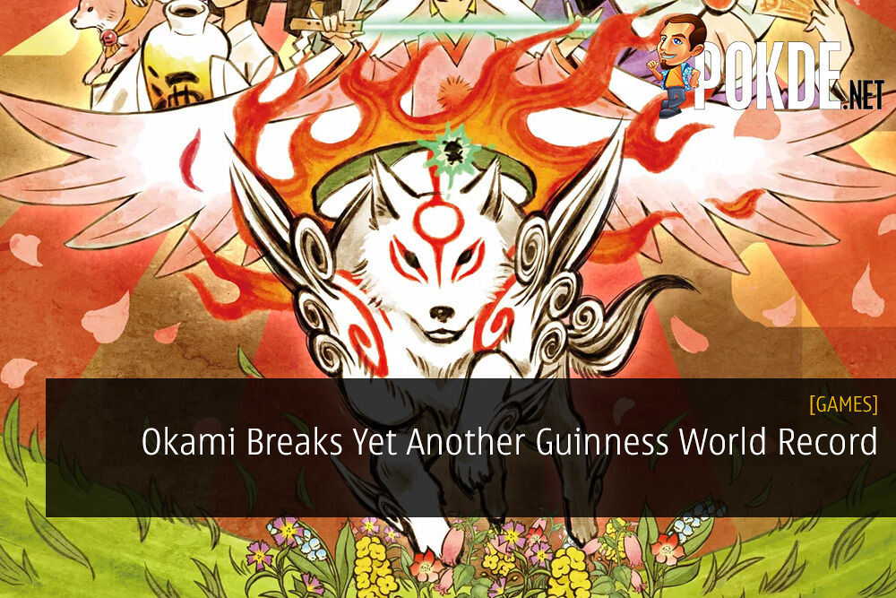 Okami Breaks Yet Another Guinness World Record