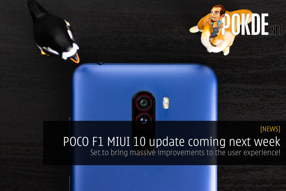 POCO F1 MIUI 10 update coming next week — set to bring massive improvements to the user experience! 22
