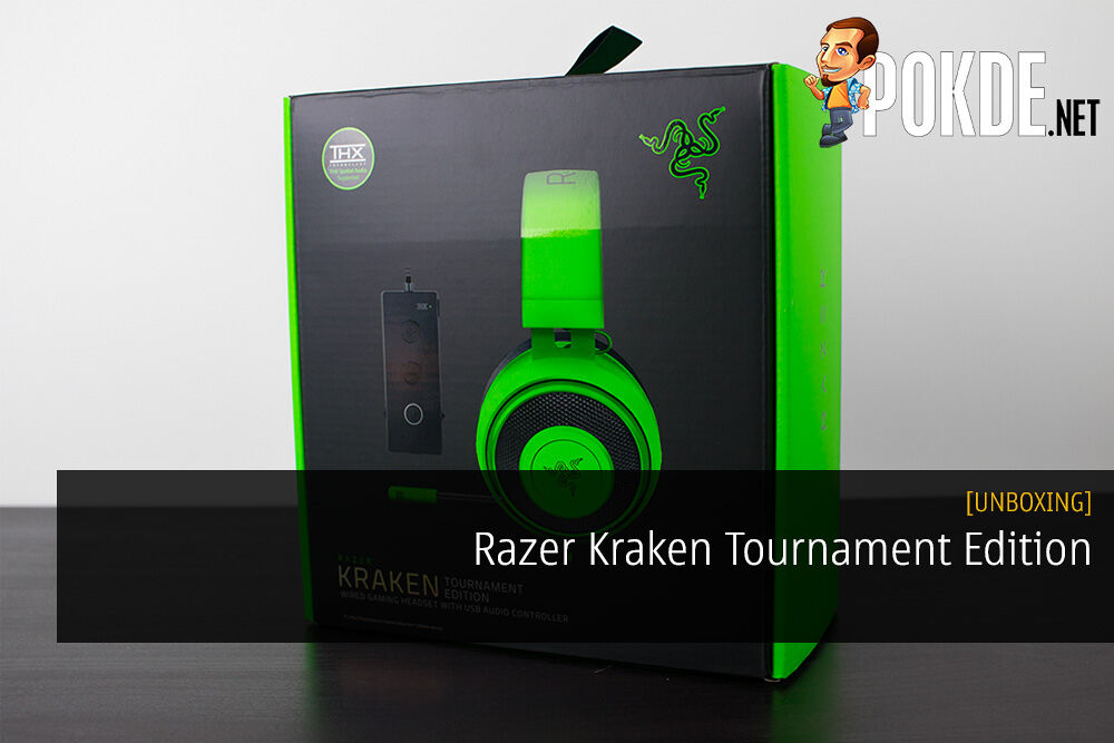 unboxing Razer Kraken Tournament Edition Gaming Headset Review