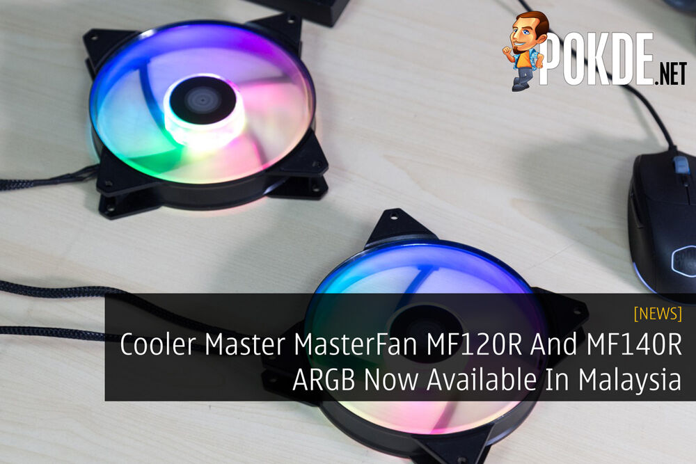 Cooler Master MasterFan MF120R And MF140R ARGB Now Available In Malaysia 21