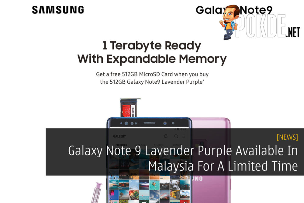 Galaxy Note 9 Lavender Purple Available In Malaysia For A Limited Time 19