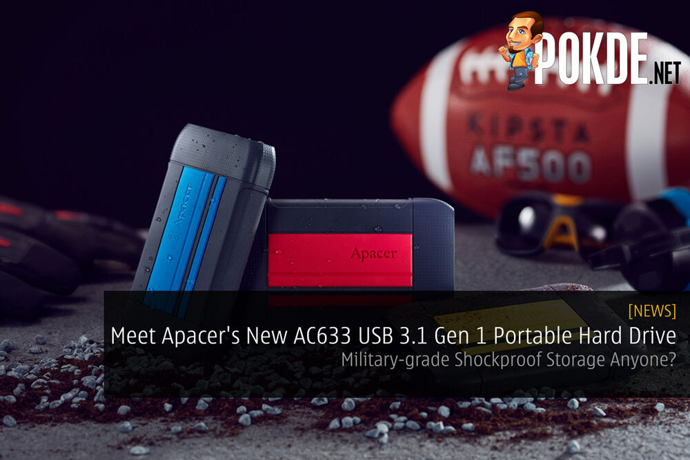 Meet Apacer's New AC633 USB 3.1 Gen 1 Portable Hard Drive — Military-grade Shockproof Storage Anyone? 22