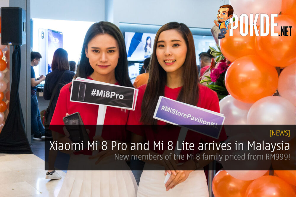 Xiaomi Mi 8 Pro and Mi 8 Lite arrives in Malaysia — new members of the Mi 8 family priced from RM999! 27