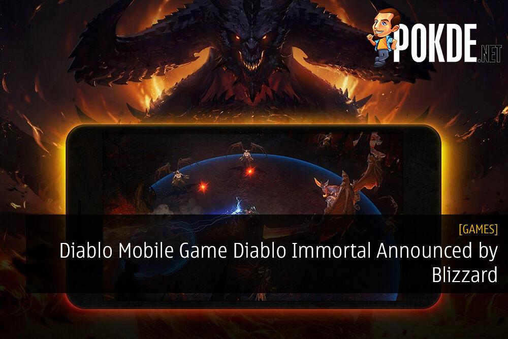 Diablo Mobile Game Diablo Immortal Announced by Blizzard 24