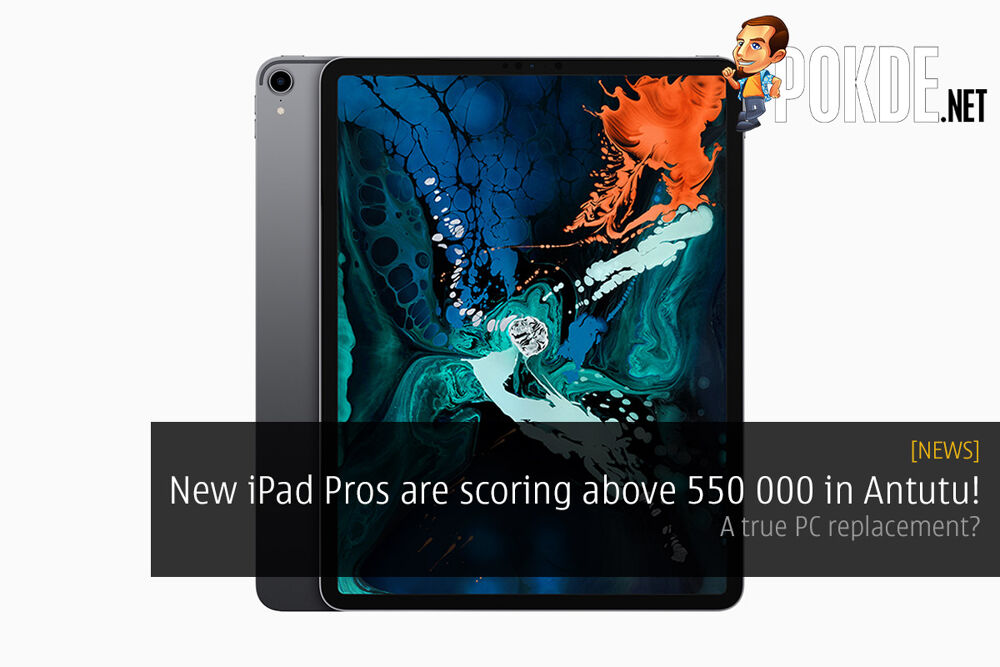 New iPad Pros are scoring above 550 000 in Antutu! A true PC replacement? 20