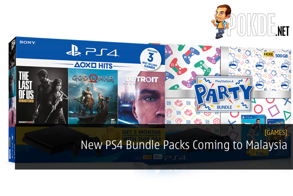 New PS4 Bundle Packs Coming to Malaysia - God of War, FIFA 19, and More 29
