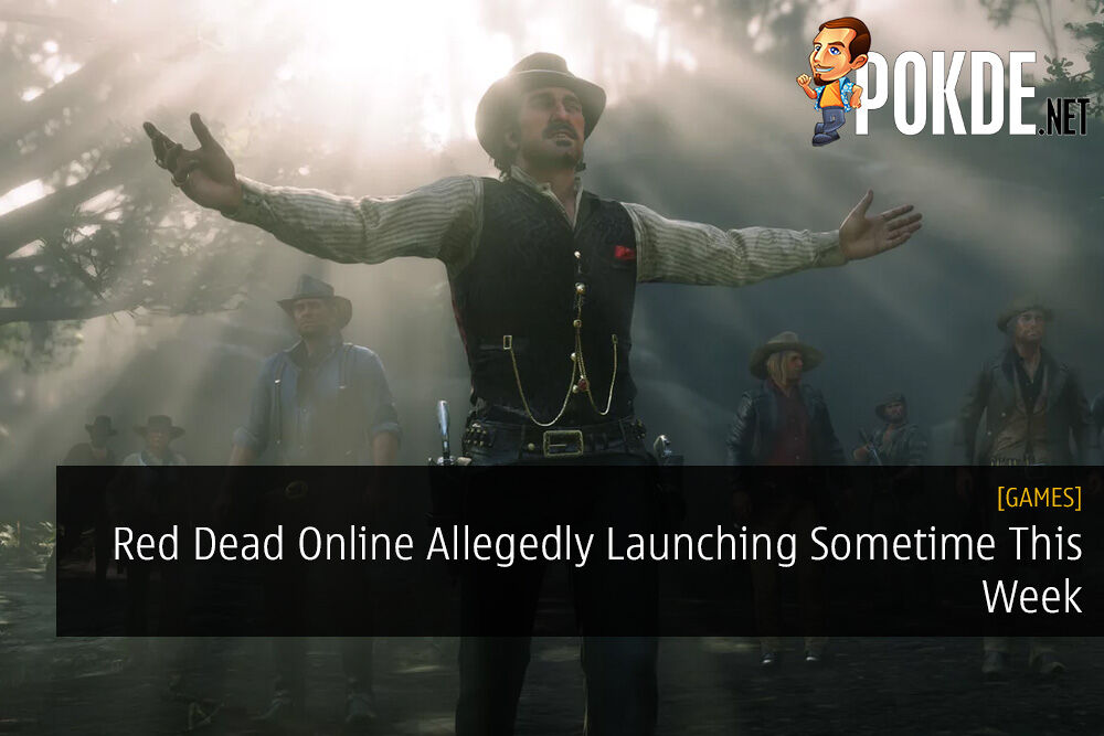 Red Dead Online Allegedly Launching Sometime This Week