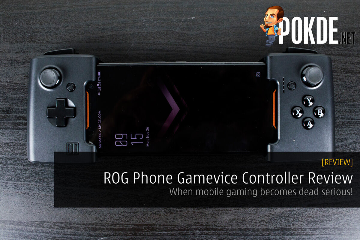 Rog Phone Gamevice Controller Review When Mobile Gaming Becomes