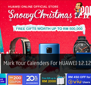 Mark Your Calenders For HUAWEI 12.12 Online Sale 24