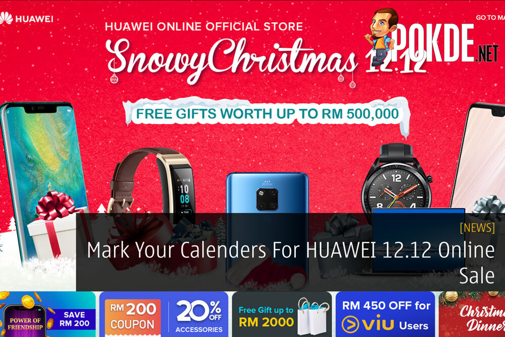Mark Your Calenders For HUAWEI 12.12 Online Sale 22